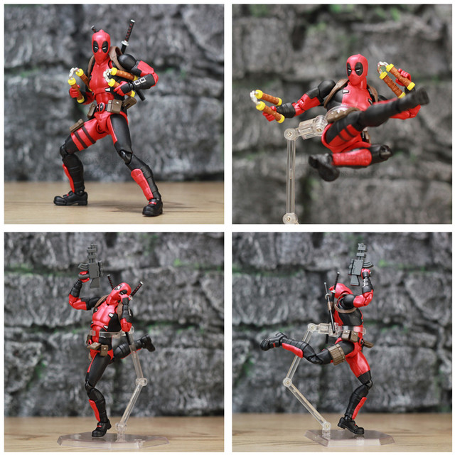 Deadpool Exclusive Action Figure with Custom Weapons 6inch. 5