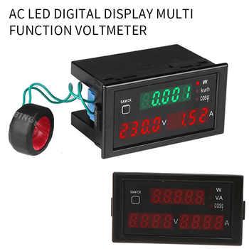 AC 80.0-300.0V/ 200.0-450.0V Alternating Current Display Meter Curren-t Frequency Electrical Energy Gauge Voltmeter Power Meter - DISCOUNT ITEM  48 OFF Tools
