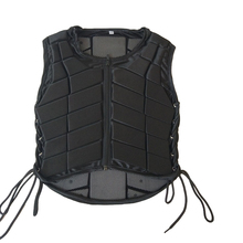 Outdoor Equestrian Vest Safety EVA Padded Horse Riding Vest Body Protector Gear Waistcoat for Adult Men Women