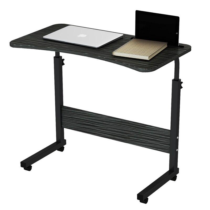 Escritorio extraíble para ordenador, mesa de noche, dormitorio, cama de estudiante, escritorio sencillo de elevación, mesa plegable para cuaderno Perezoso