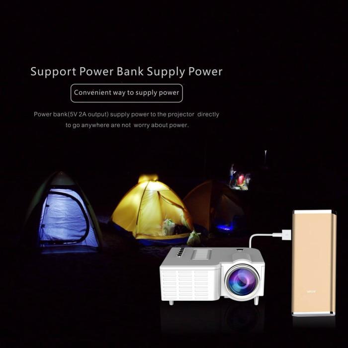 Uc28 pro hdmi portátil mini projetor led