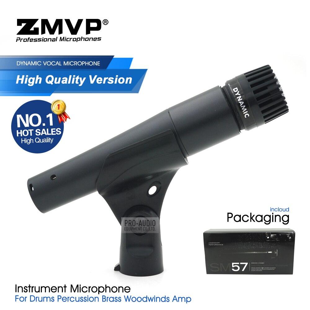 Versão de alta qualidade sm57lc microfone com fio lendário sm57 profissional dinâmico instrumento microfone para estúdio karaoke estágio ao vivo