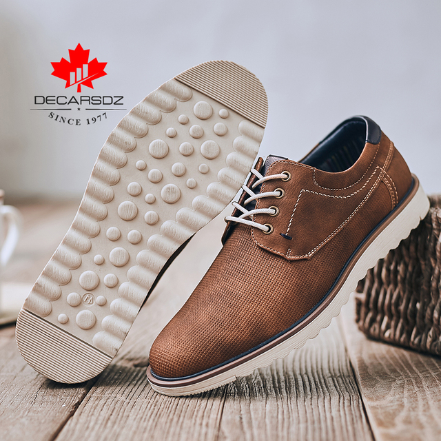 Men Shoes 2020 Autumn Fashion High Quality Casual Walking Shoes Men New Leisure Footwear Male Brand Leather Men Casual Shoes