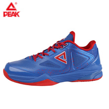 PEAK Men's Basketball Shoes TONY PARKER TP9 Professional Basketball Sneakers Responsive Cushioning Sole Flexible Sport Shoes цена