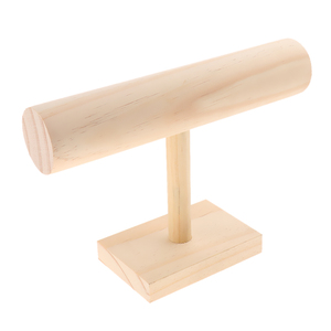 Image 2 - Unfinished Wooden Headband Holder Jewelry Display Stand Rack Organizer Holder for Home Shop Show