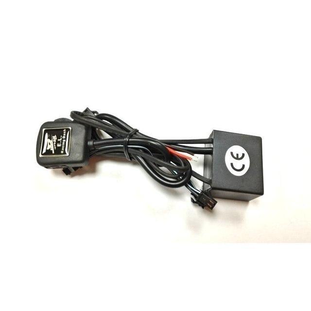 DASH EL glow gauge for RHD Corolla AE100 AE101 1993 1997 240 km 8000 RPM Black Panel Reverse White light