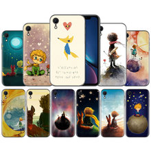 Чехол Little Prince и Fox для Apple IPhone X XS XR XS Max 7 8 6S 5 5S 5C SE PlusCase для Apple IPhone X XS XR XS Max(China)