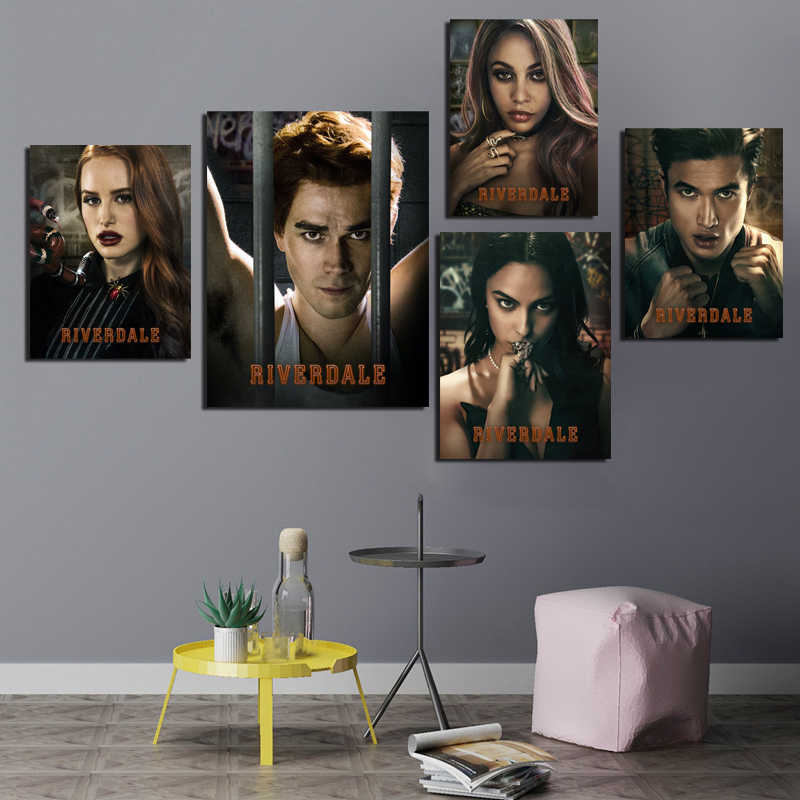 Riverdale TV  Drop Shipping HD Wallpaper Canvas Painting Prints Bedroom Home Decor Modern Wall Art Oil Painting Poster Artwork