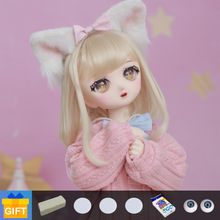 ShugaFairy Naiko 1/4 quadratic element Doll BJD Resin Body Model Girls mdd Fullset with face up Toy Gifts joint doll