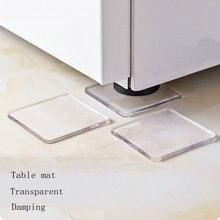 Coussin de choc antidérapant, ensemble de 4 pièces, pour la maison, Machine à laver, réfrigérateur, chaise, meubles, livraison directe
