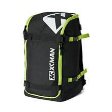 Xcman esqui snowboard mochila 50l voando saco de viagem a ar lojas capacete, botas, porta carregamento usb