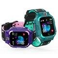 2019 S19 водонепроницаемые Смарт-часы для детей LBS трекер Детские SOS звонки анти-потеря детские часы Детские телефонные часы для мальчиков и дев...