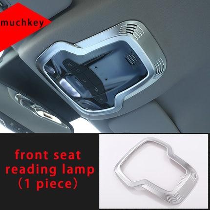 For Alfa Remeo stelvio front seat reading lamp chrome molding trim 1pc