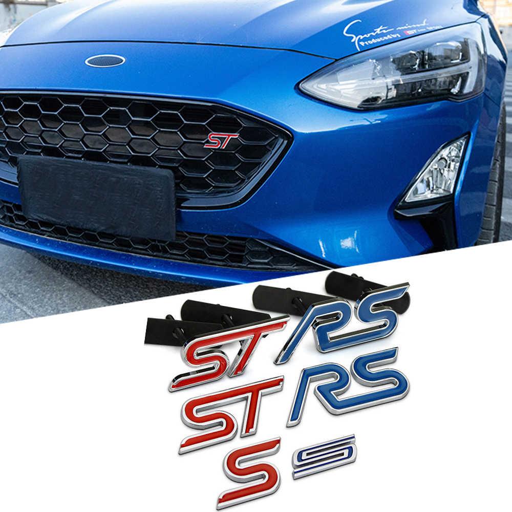 3D metal araba çıkartmaları Net ön kaput için araba aksesuarları Ford Fusion odak 2 ST RS S araba sticker şekillendirici
