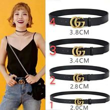 Luxury Genuine Leather Design gg Belt for Women and Men High Quality Buckle Ceinture Femme Jeans Dress Decorative