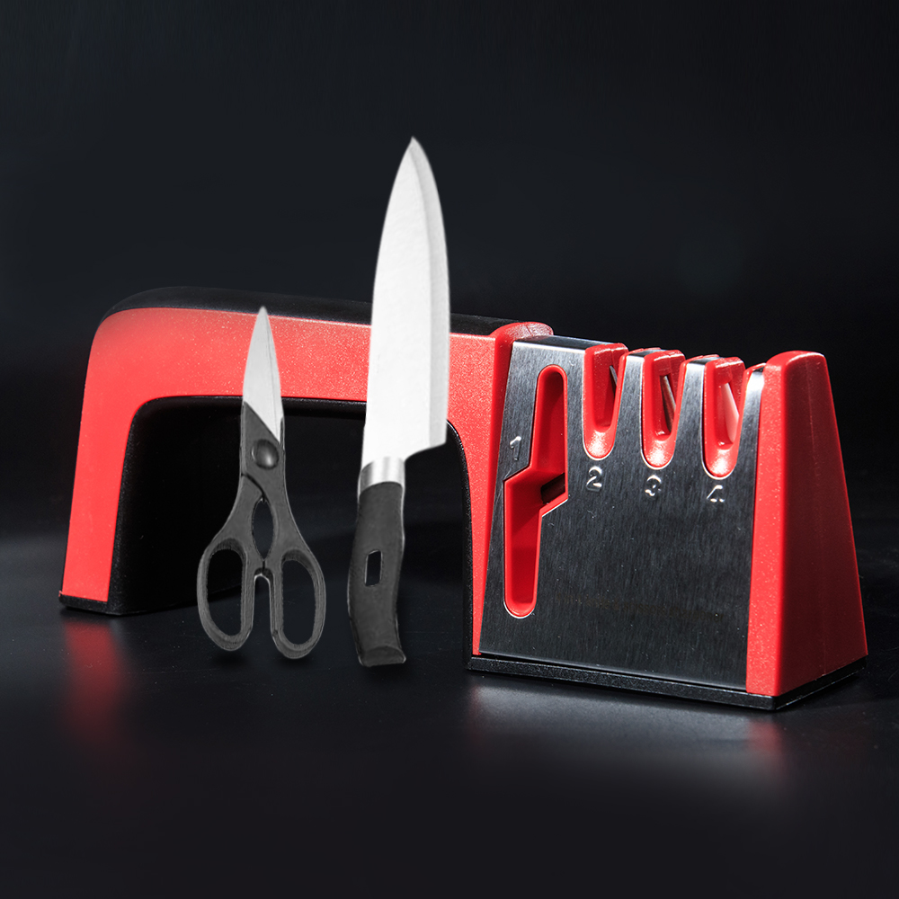 4 in 1 Knife Sharpener Ceramic Kitchen Knife Home Appliances Kitchen