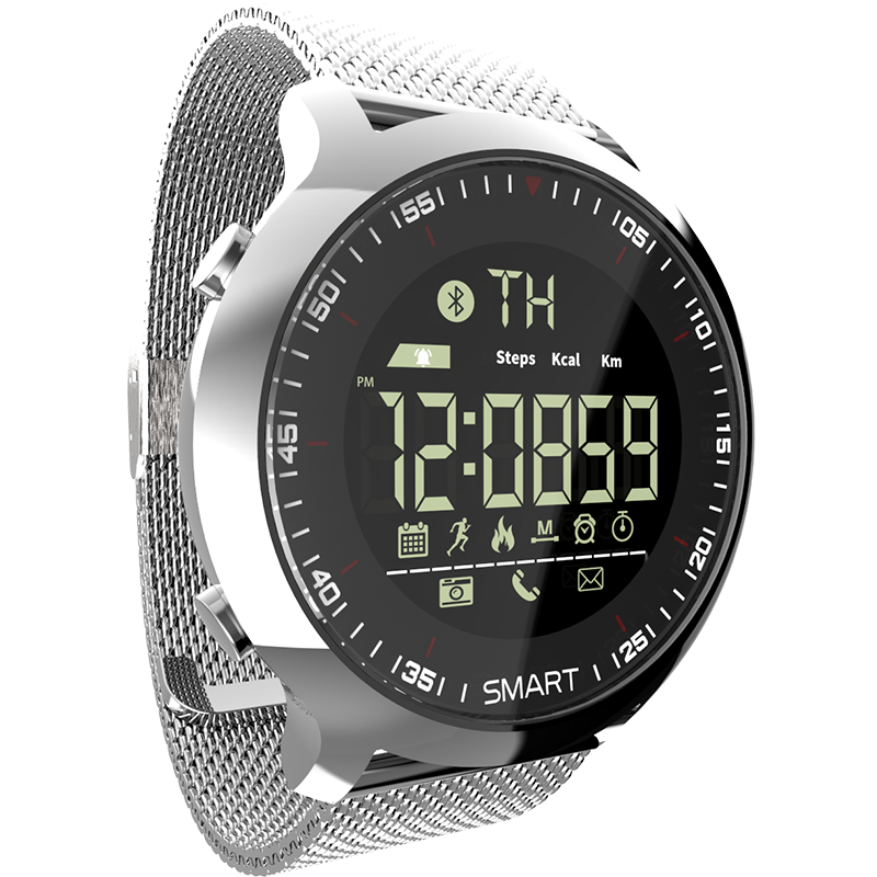 Watch Smart LOKMAT MK18 Smartwatch ios Men IP68 Waterproof Pedometers Sports Smart Watch Call Message Reminder Remote Camera