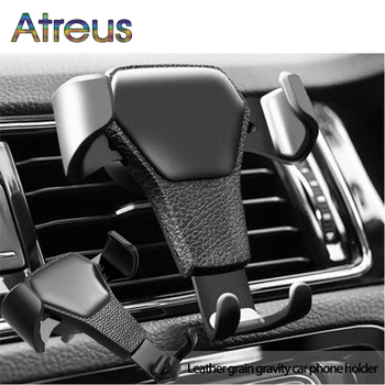 Car Styling Gravity Mobile Phone GPS Holder For Chevrolet Cruze Aveo Peugeot 307 308 Seat Leon 2 Mazda 3 6 CX-5 Renault Dacia image