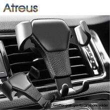 Soporte GPS para teléfono móvil por gravedad para Chevrolet Cruze Aveo Peugeot 307 308 asiento León 2 Mazda 3 6 CX-5 Renault Dacia
