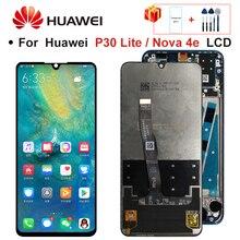 2312*1080 מקורי LCD עם מסגרת עבור HUAWEI P30 לייט LCD תצוגת מסך עבור HUAWEI P30 לייט מסך נובה 4e MAR LX1 LX2 AL01