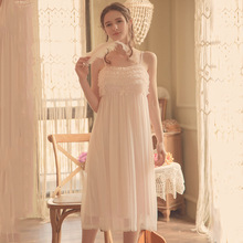 Spaghetti Chiffon Pajamas Sweet Women Sleep Lounge
