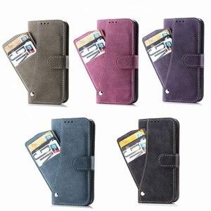 Image 5 - Чехол бумажник с откидной крышкой, чехол для телефона Samsung Galaxy Note 10 Plus, откидная подставка, не Note10 10 Plus Note10 + с карманом для карт, оболочка, чехлы