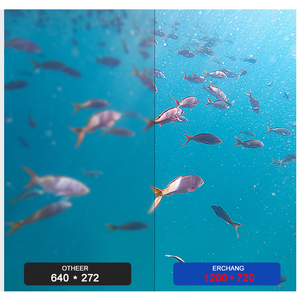 Image 4 - Nagrywanie lokalizator ryb pod wodą kamera wędkarska DH 1280*720 ekran 2 diody na podczerwień jasna biała kamera led do łowienia ryb