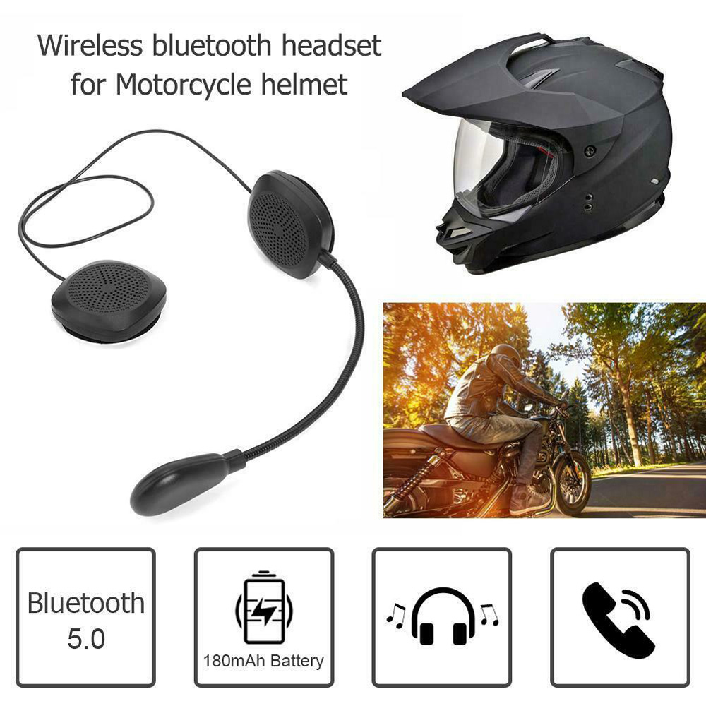 2020 MH05 Bluetooth 5.0 Motorcycle Helmet Earphone Headset Wireless Handsfree MP3 Durable And Practical