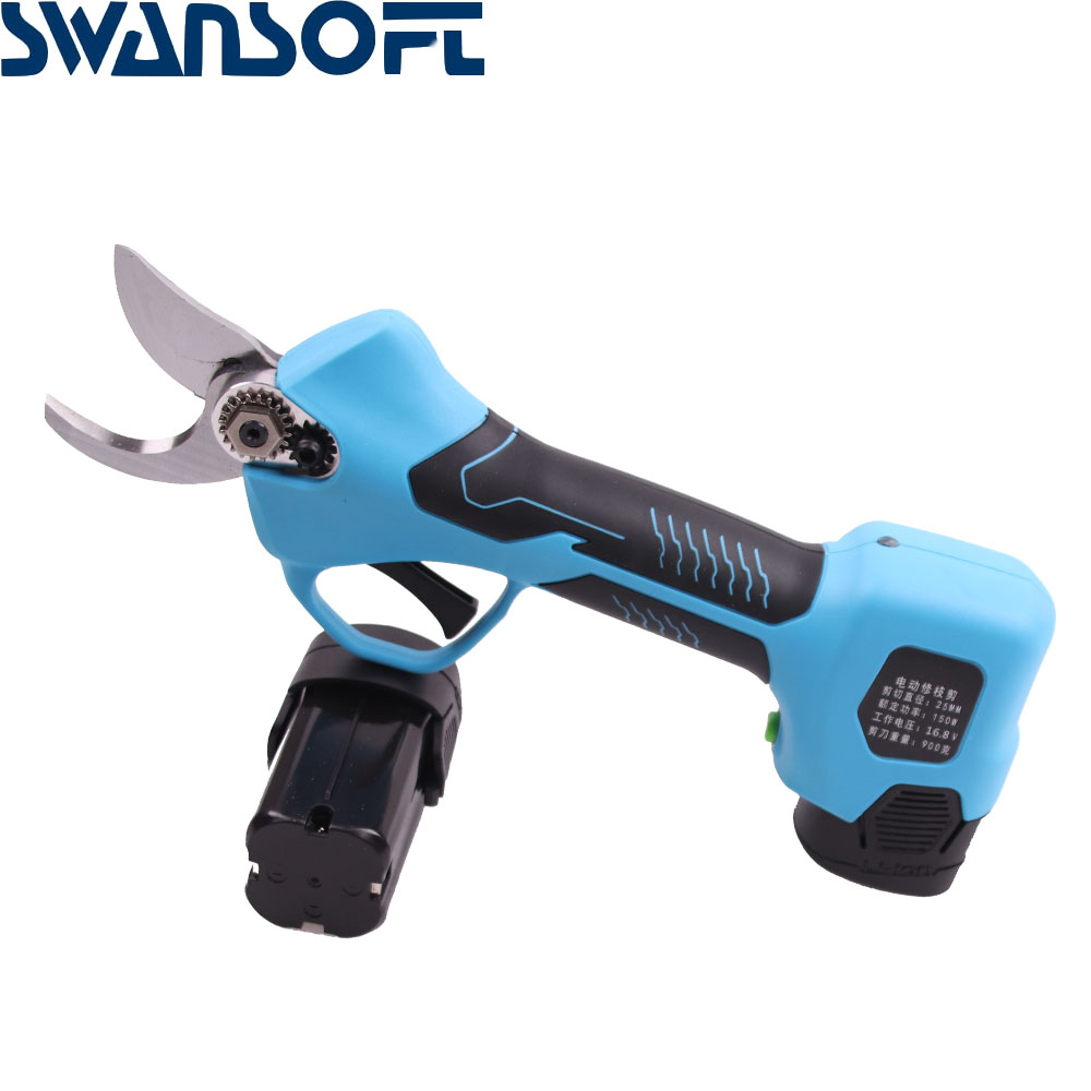 Cordless 16 Garden SWANSOFT Pruner Pruning Rechargeable Electric Shears Pruning 8V Scissors