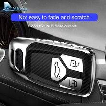 AIRSPEED funda protectora de fibra de carbono para llave de coche, cubierta protectora, para Audi A4, A4L, A6L, A5, B9, Q5, Q7, TT, TTS, 8S, S5, S7
