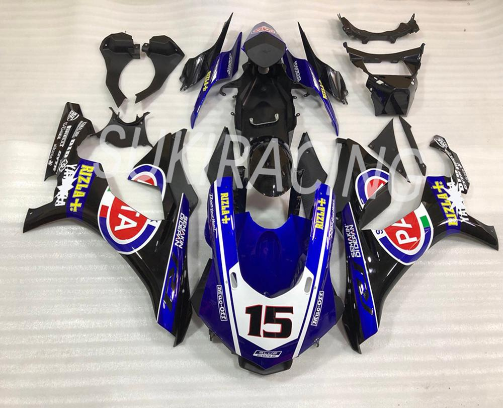 Motorcycle Fairing For YZF - R1 2015 2016 2017 2018 2019 Fairing Kit Stickers