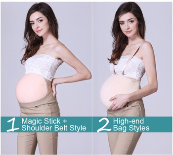 1Pcs 5 To7 Months 2000 Grams Promotion Test Silicon Fake Pregnancy Belly Hot Sale Product  Waist Trainer  Waist Trainer Men