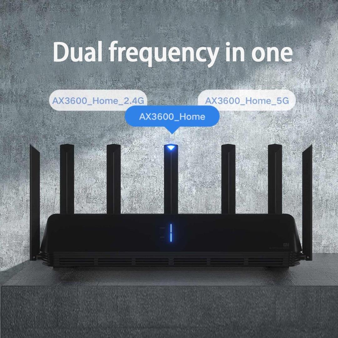 2021 Xiaomi AX3600 AIoT Router Wifi 6 Dual-Band 2976Mbs Gigabit Rate Security Encryption Mesh Wifi External Signal Amplifier 3