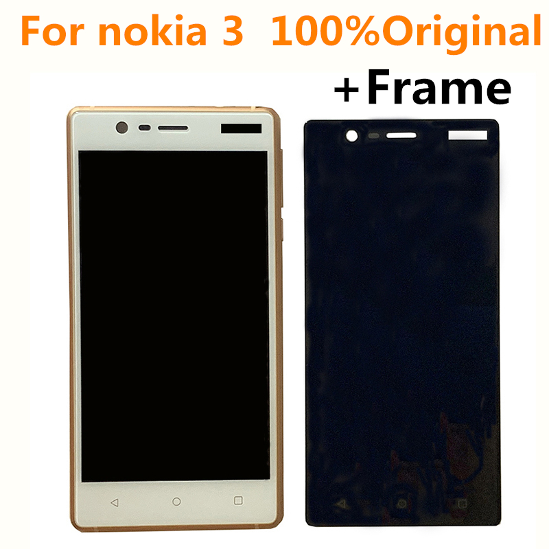 For Nokia 3 TA-1020 TA-1028 TA-1032 TA-1038 LCD Display+Touch Screen Digitizer Assembly Replacement Parts