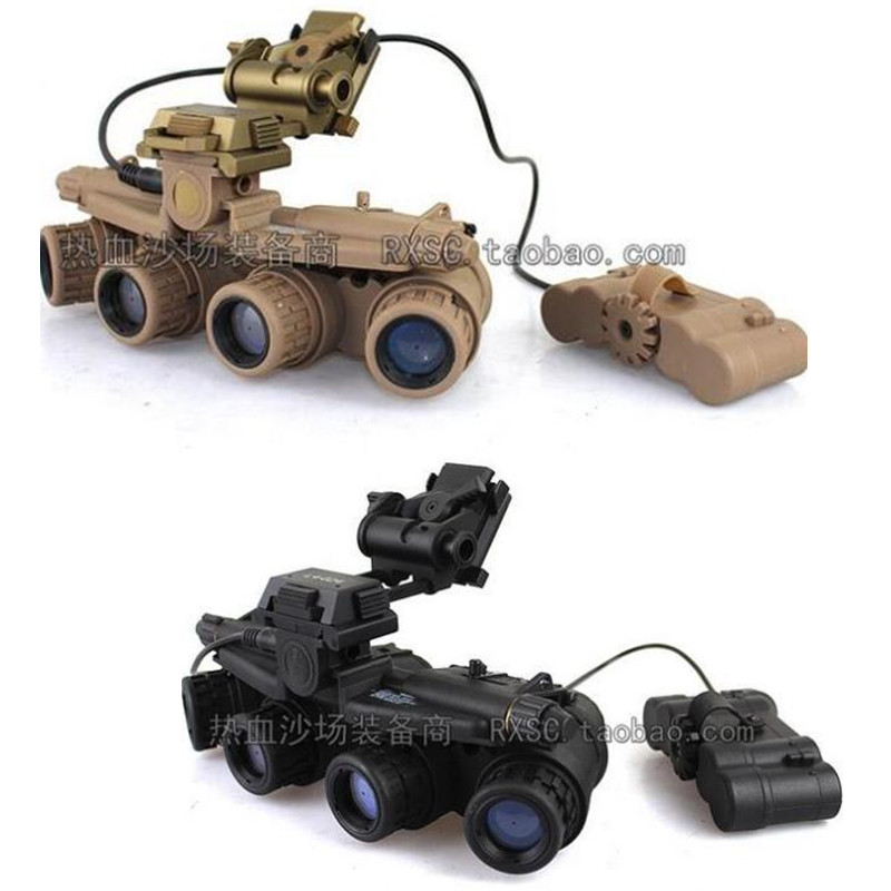 FMA GPMVG 18 Night Vision Goggle NVG DUMMY Black Desert For Airsoft tactical