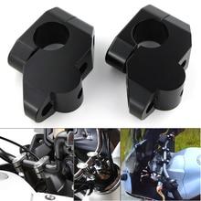 "Para Honda XL1000V VTR1000F CBX 750 FMX 650 NT650V NX 650 SLR 650 22mm 7/8 ""de la barra de la manija para planteó extender del montaje del manillar de subida"