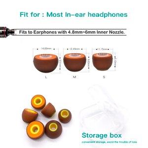 Image 5 - Whiyo เปลี่ยนหูฟังสำหรับ SONY WF 1000XM3/ SONY XBA A1AP/ QOA Pink Lady/ AUDIOSENSE AQ3ซิลิโคน Universal
