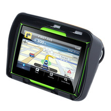 Atualizado 256M Ram Gb Flash 4.3 Polegada 8 Moto Navegador Gps À Prova D' Água Do Bluetooth Motocicleta Gps Car Navigation América Do Norte mapa(China)