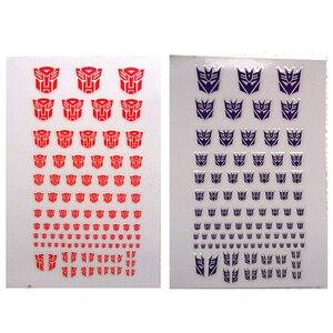Image 1 - ملصقات Autobots G1 ملصقات 90 + رمز ملصق مائي مخصص لتقوم بها بنفسك المشهد اكسسوارات 0.6*0.6 1.5*1.5 سنتيمتر الديكور