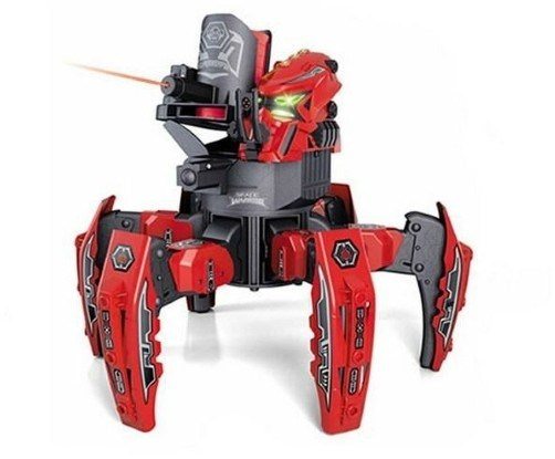 RC Spider Robot Space Warrior Discs And Hole. Sight KY9005-1