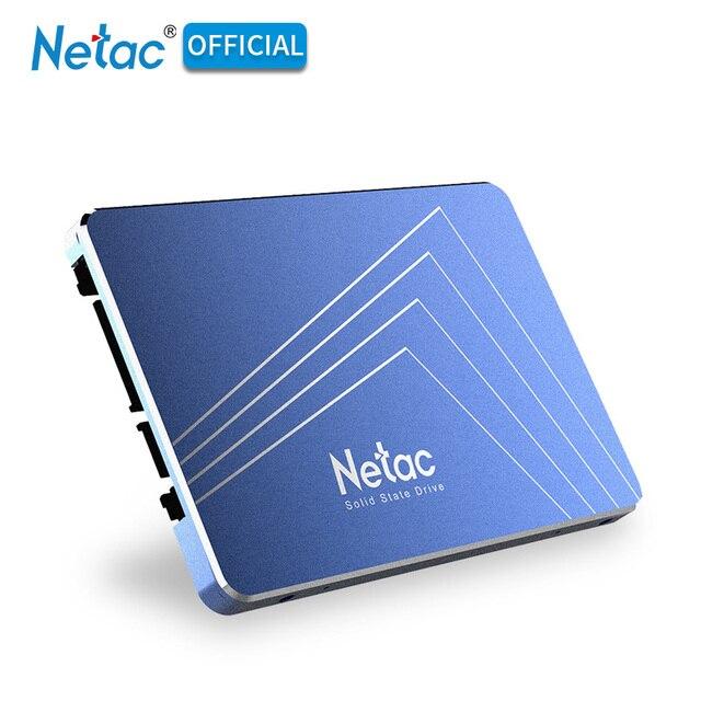 Original Netac 1TB SSD 128GB 256GB 512GB Hard Drive SATA III Internal Solid State Drive 1 TB 720GB SSD Disk For Laptop Desktop