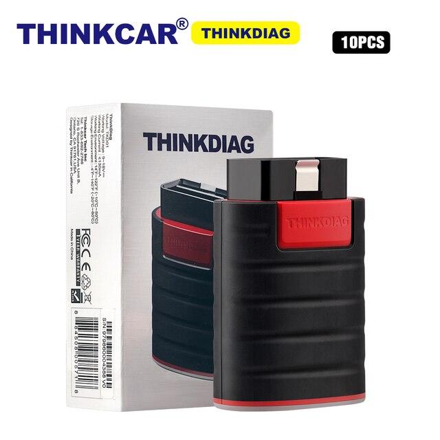 10pcs ThinkCar ThinkDiag 1 שנה עדכון משלוח מתנה obd2 obdii קוד קורא כל מערכת אבחון כלי 15 איפוס חושב diag סורק