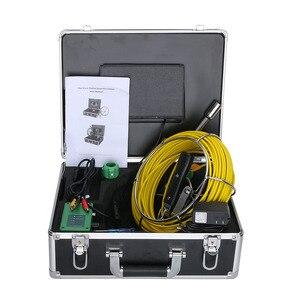 "Image 4 - GAMWATER 30/50M boru muayene Video kamera, 8GB TF kart DVR IP68 drenaj kanalizasyon boru hattı endüstriyel endoskop 7 ""monitör"