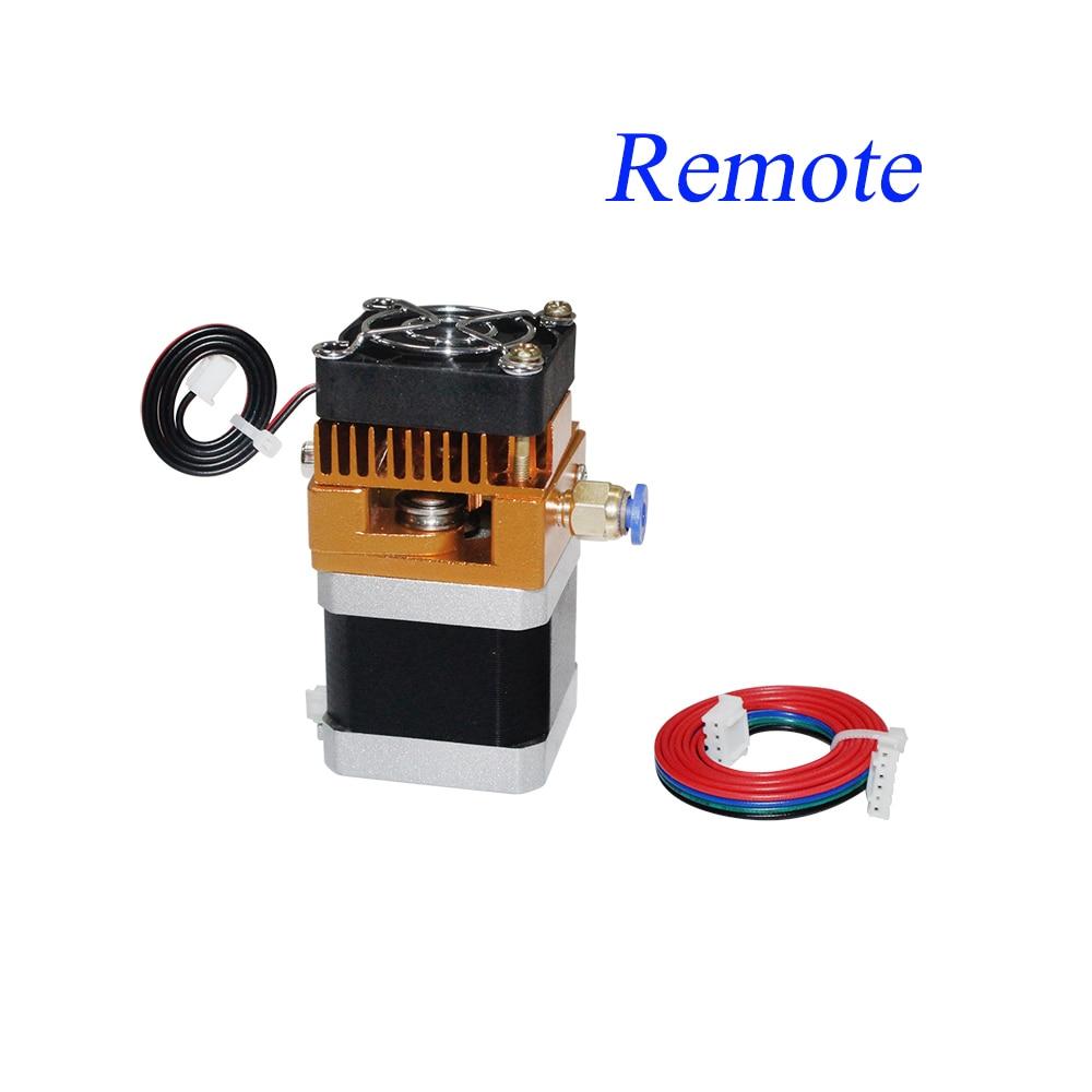 Image 3 - MK8 Extruder Head J head Hotend 0.4mm Nozzle Kit 1.75mm Filament Extrusion Nema17 stepper motor Throat Aluminum PartStepper Motor   -