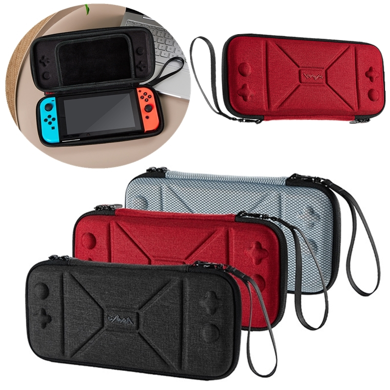 Protective Nintend Switch EVA Hard Storage Bag Shockproof and Waterproof Travel Carry Case Bag Switch Console & Accessories