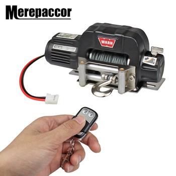 MEREPACCOR Rc metalowy samochód stalowy przewodowy automatyczny symulowany wciągarka do 1 10 gąsienica Rc oś samochodu Scx10 90046 D90 Traxxas Trx4 tanie i dobre opinie Do składania FRAME Akcesoria do serwomechanizmów 73*32*32mm Pojazdów i zabawki zdalnie sterowane Wartość 2 1 10 RC Crawler