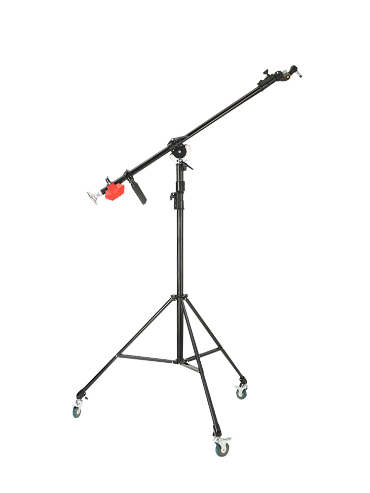 Moving Large scale Headlamp Holder  Studio For Photography  Film And Television  Rocker Arm Inclined Arm LIGHT STAND|Photo Studio Accessories| |  - title=