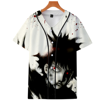 2019 Mob Psycho 100 jackets Kpop Fashion jacket new brand cool print long sleeve Mob Psycho 100 baseball jacket for men фото
