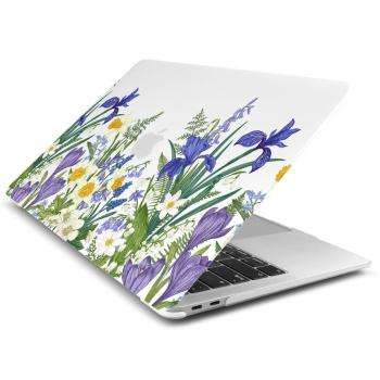 Marble Flower Pattern Case for MacBook 2