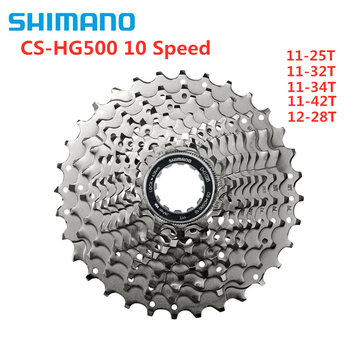 Shimano Tiagra M6000 CS-HG500 M4100 HG50 10 Speed Mountain MTB Road Bike Cassette flywheel 11-25T 12-28T 11-32T 11-34T 11-42T система шатунов shimano tiagra 4700 172 5 мм 50 34t без каретки для 10 скоростей